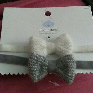 Cloud island baby head bands